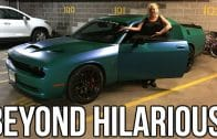 MOM REACTS TO 800HP SUPERCHARGED LAMBORGHINI!