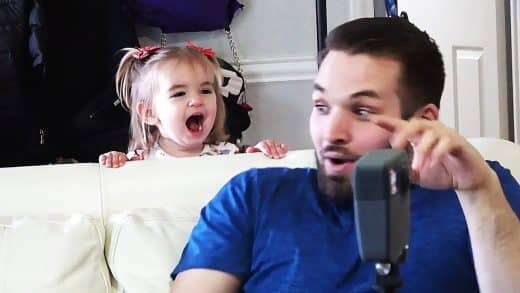 BABY-SCARES-THE-PANTS-OFF-HER-UNCLE-then-laughs-about-it