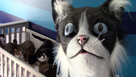 CatDad-Feeds-His-Kitties-In-Cat-Mask-Fail-Original-Video
