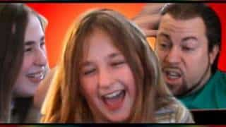 Girls-Prank-Their-Dad-and-Scare-Him-With-A-Loud-Noise-Funny-Reality-Video