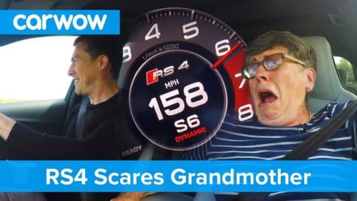 Hilarious-my-70-year-old-mom-reacts-to-Audi-RS4-performance-Mat-Vlogs