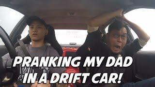 PRANKING-MY-DAD-IN-A-DRIFT-CAR-Shawn-Lee