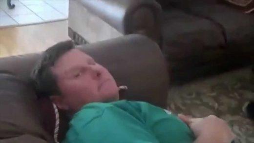 SCARE-PRANKS-ON-DAD