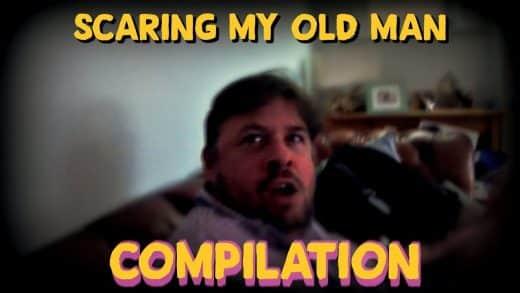 SCARING-MY-DAD-PRANK-COMPILATION
