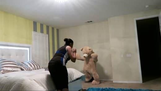 TEDDY-BEAR-SCARE-PRANK-ON-MOM-HILARIOUS