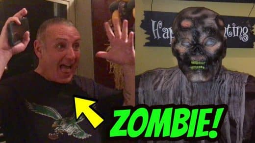 ZOMBIE-SCARE-PRANK-ON-DAD-funny